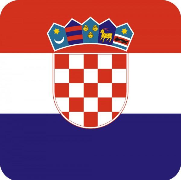Getränke Untersetzer Kroatien 20 Stück
