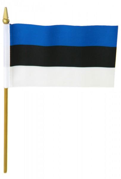 Estland Tischfahne 10x15cm