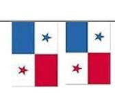 Panama Länderkette 3 m - 10 Flaggen á 15x22,5cm