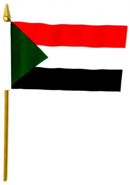 Sudan Tischfahne 10x15cm
