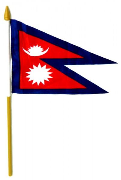 Nepal Tischfahne 10x15cm