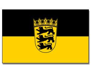 Baden Württemberg Flagge 90 x 150 cm