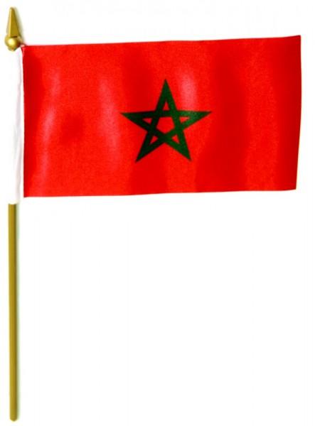 Marokko Tischfahne 10x15cm