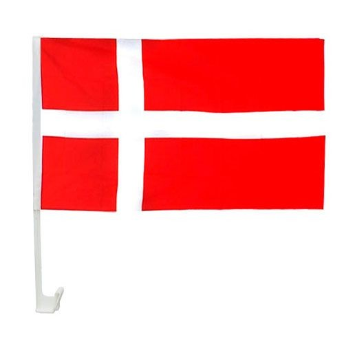 Dänemark Autofahne