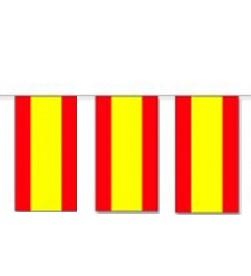 Spanien Länderkette 3 m - 10 Flaggen á 15x22,5cm