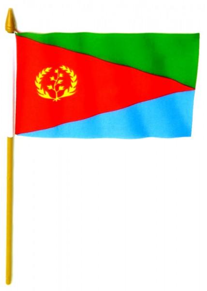 Eritrea Tischfahne 10x15cm