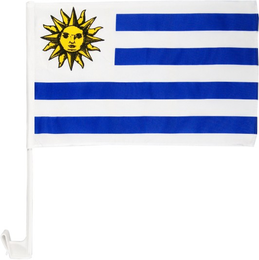 Uruguay Autofahne