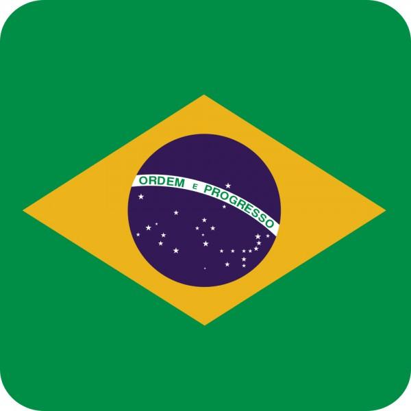 Getränke Untersetzer Brasilien 20 Stück