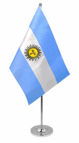 ArgentinenTischfahne 22,5x15cm Satin