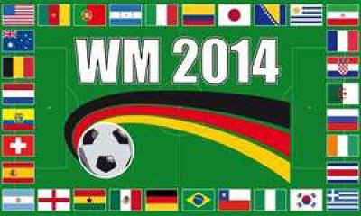 WM 2014 Teilnehmerländer Sonderauflage 2014