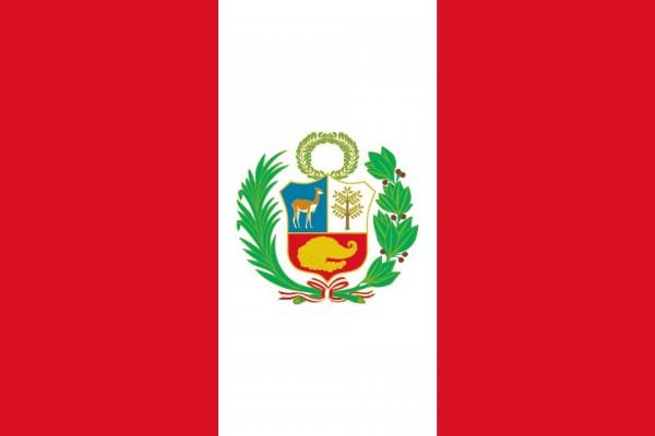 Peru Flagge 90 x 150 cm