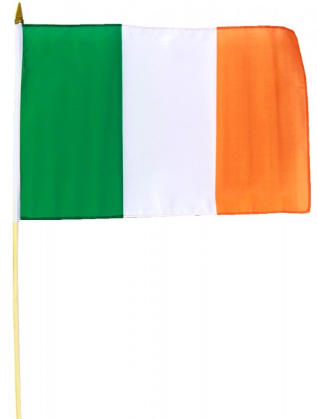 Irland Stockfahne 30cm x 45cm