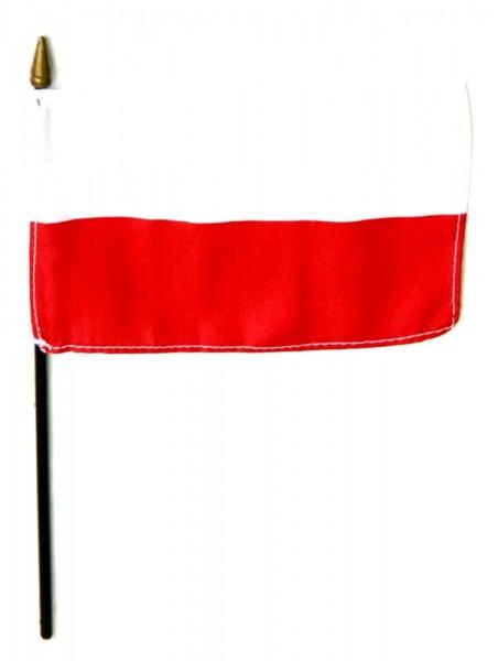 Polen Tischfahne 10x15cm
