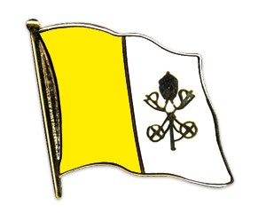 Vatikan Pin Flaggenpin