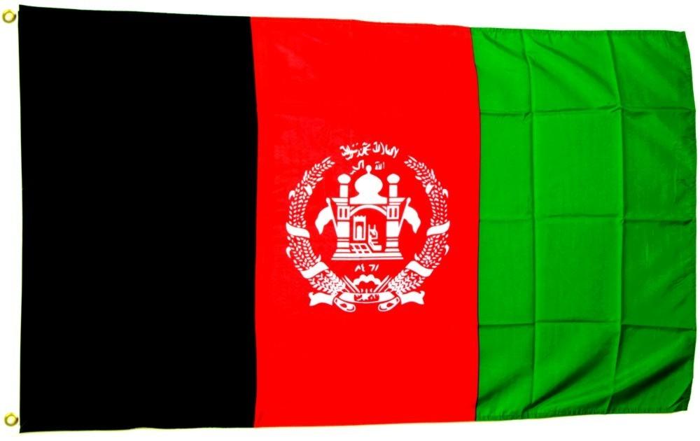 Afghanistan Flagge 90 X 150 Cm 90 X 150 Cm Internationale