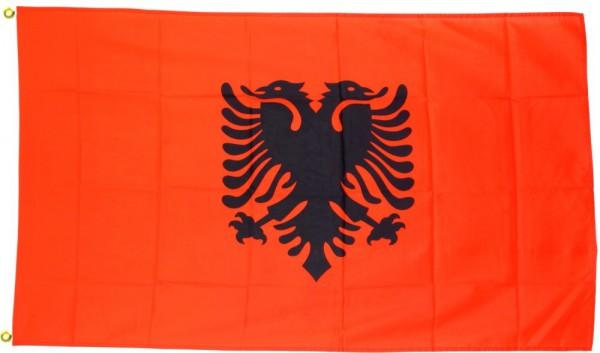 Albanien Fahne/Flagge - 60cm x 90cm