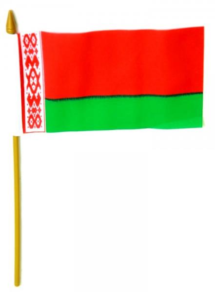 Belarus Tischfahne 10x15cm