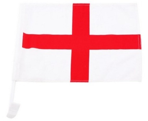 England Autofahne