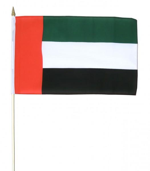 Vereinigte Arabische Emirate Stockfahne 30cm x 45 cm