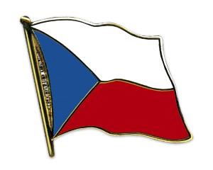 Tschechien Pin Flaggenpin