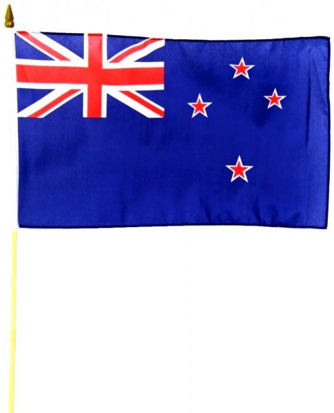 Neuseeland Stockfahne 30cm x 45 cm