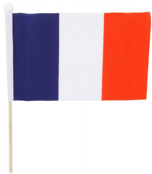 Frankreich Tischfahne 22,5x15cm