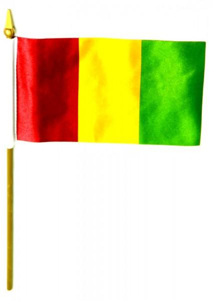 Guinea Tischfahne 10x15cm