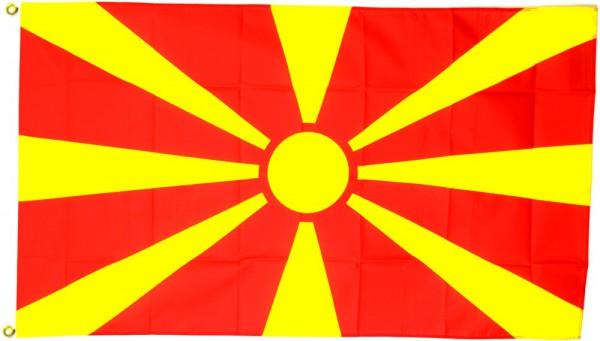 Mazedonienflagge 90 x 150 cm