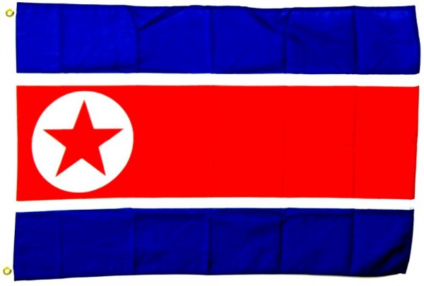 Nordkorea Flagge 90 x 150 cm