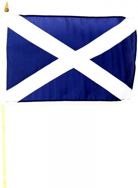 Schottland Stockfahne 30 x 45 cm