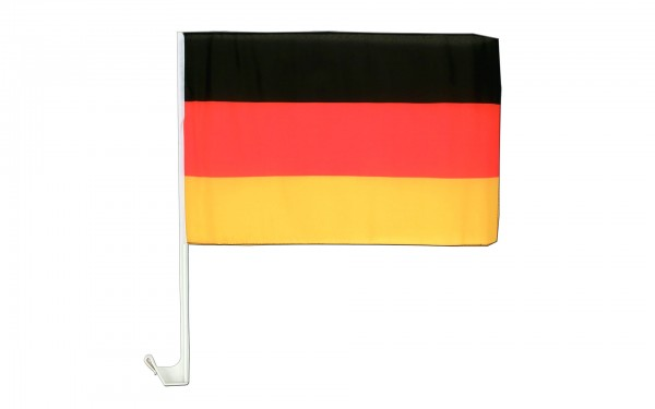 Deutschland Autofahne