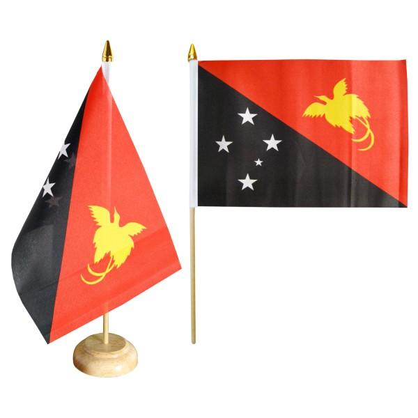 Papua Neuguinea Tischfahne 10x15cm