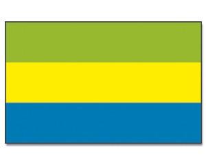 Gabun Flagge 90 x 150 cm