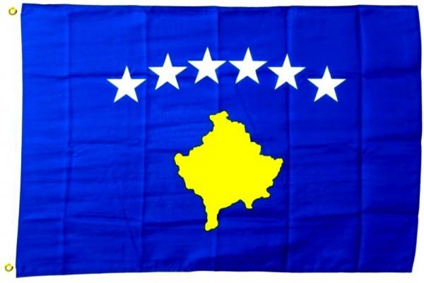 Kosovo Flagge 150x250cm