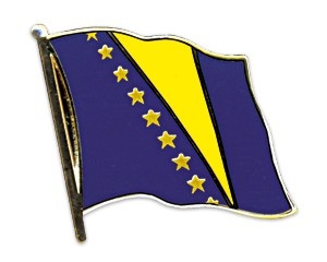 Bosnien-Herzegowina Pin Flaggenpin