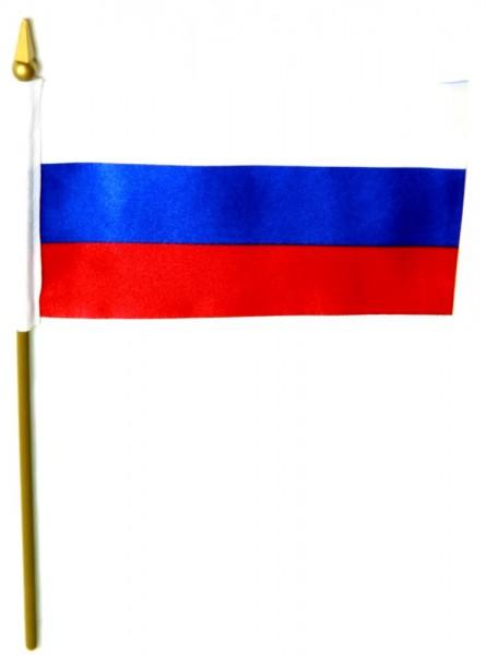 Russland Tischfahne 10x15cm