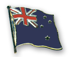 Neuseeland Pin Flaggenpin