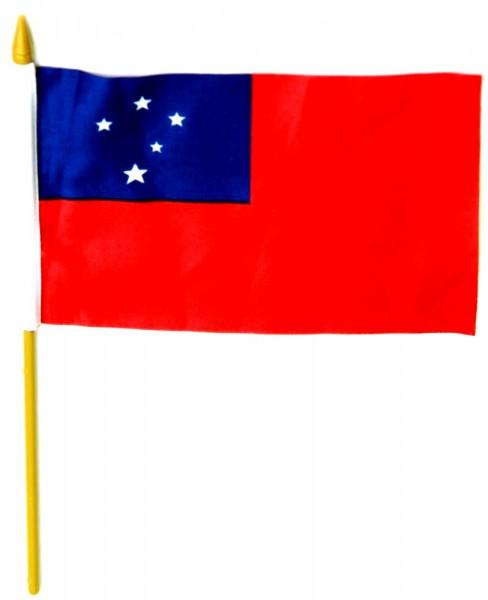 Samoa Tischfahne 10x15cm
