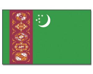 Turkmenistan Flagge 90 x 150 cm