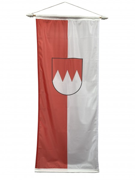 Franken Bannerfahne mit Wappen 100 x 300 cm