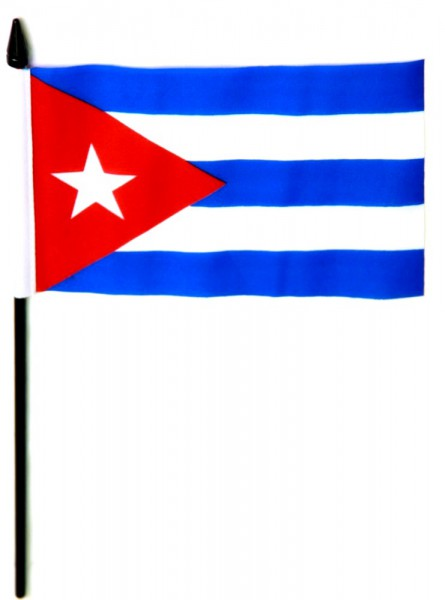 Kuba Tischfahne 10x15cm