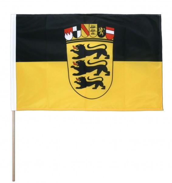 Baden Württemberg Stockfahne 30cm x 45 cm