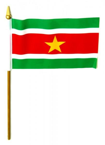 Surinam Tischfahne 10x15cm