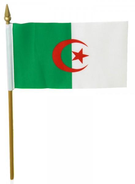 Algerien Tischfahne 10x15cm