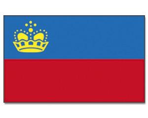 Liechtensteinflagge 90 x 150 cm