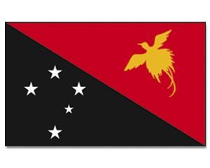 Papua-Neuguinea Flagge 90 x 150 cm
