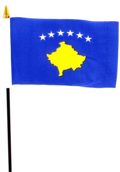 Kosovo Tischfahne 10x15cm