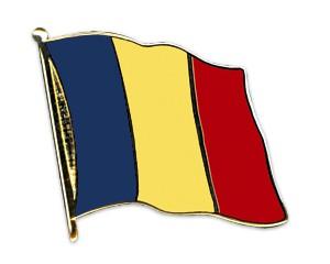 Rumänien Pin Flaggenpin