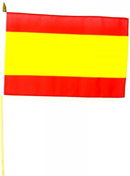 Spanien Stockfahne 30cm x 45cm