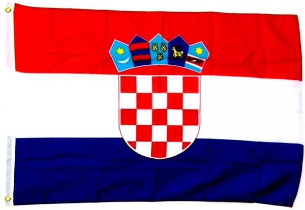 Kroatien Fahne/Flagge - 60cm x 90cm